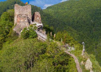 castel in romania